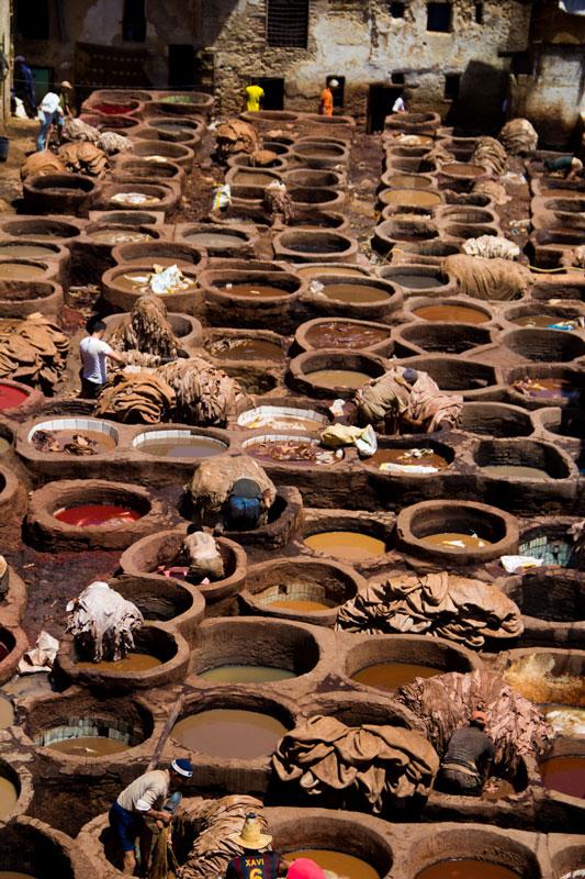 Marrakesh, Morocco, market.