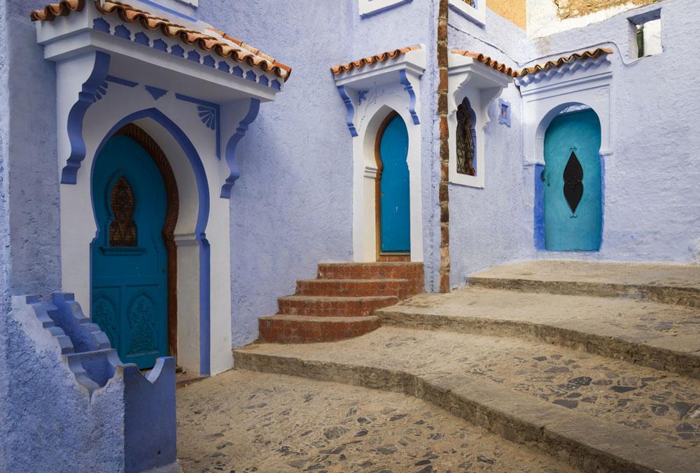 Chefchaouen via Rabat and Casablanca