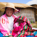 Street portraits in rural Peru