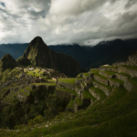 Machu Picchu in its stormy glory
