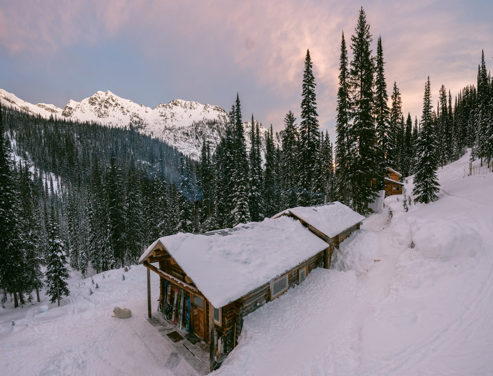 Boulder Hut Ski Photography desktop wallpapers by Jeff Bartlett