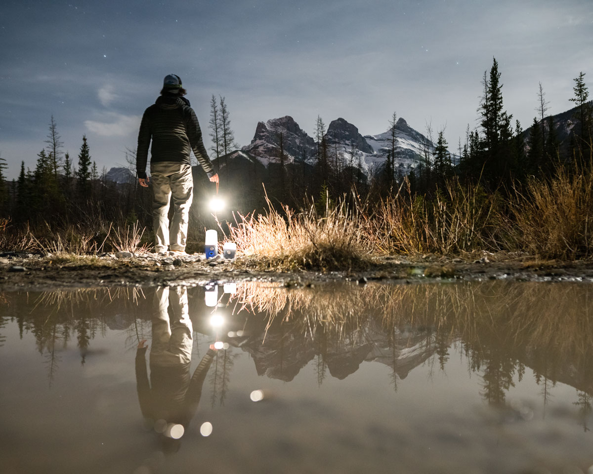 Getting outside and explore, with a variety of products