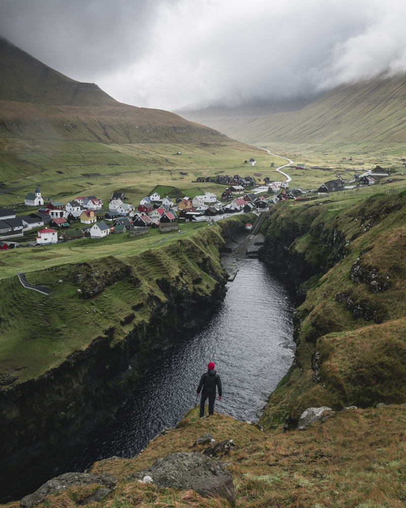 The town of Gjogv, Faroe Islands, is a classic photography stop during the f/8 photo expedition Faroe Islands