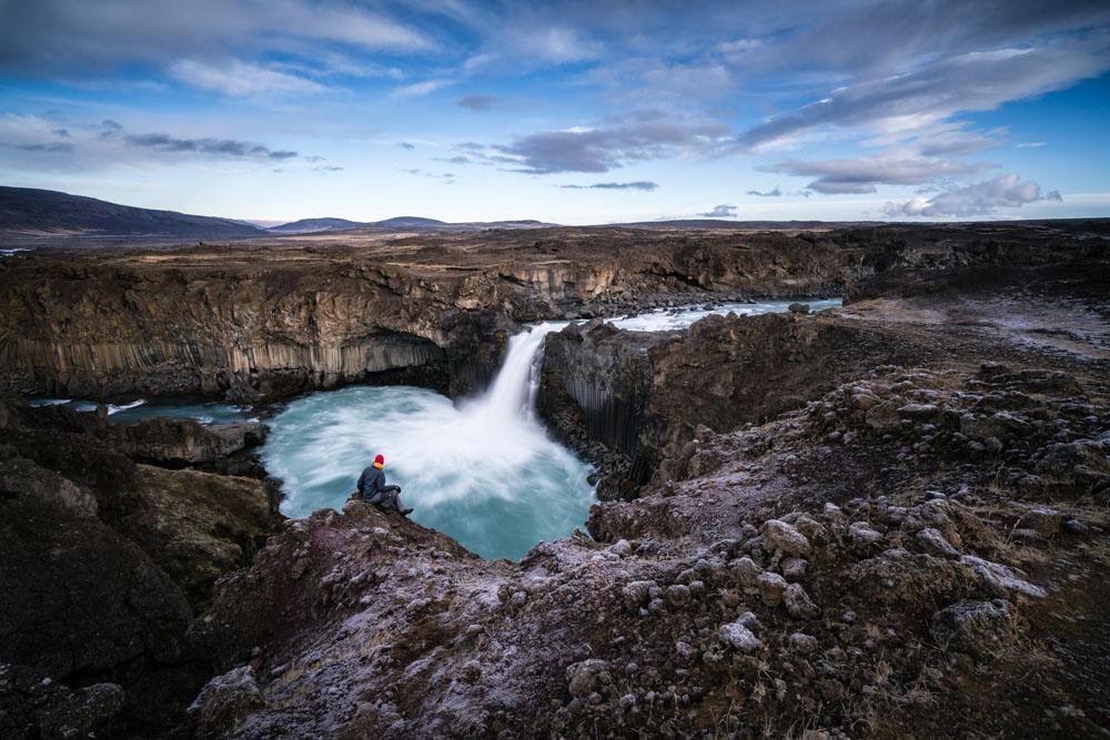 Eddie Bauer EverTherm Down Jacket in Iceland.