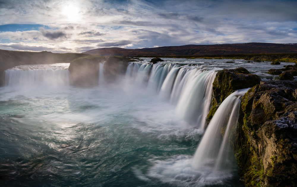 Godofoss, Iceland, is an iconic photography location in the north