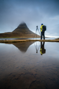 Iceland and the summer solstice in the field