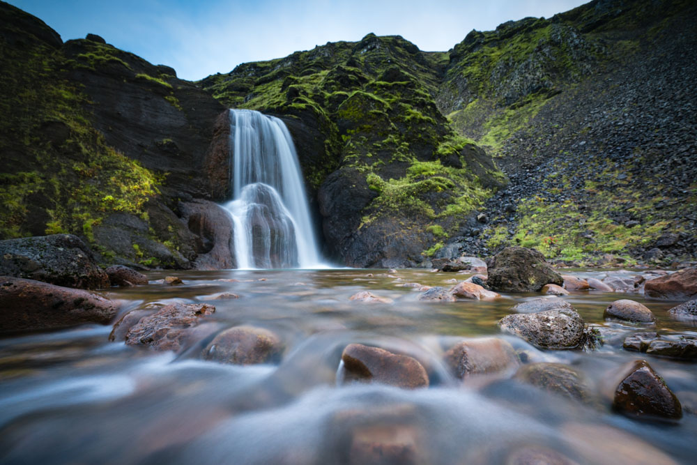 name this little waterfall in iceland?