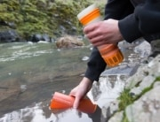 The Grayl Ultraliight water filter is an easy way to replace 300 plastic water bottles.