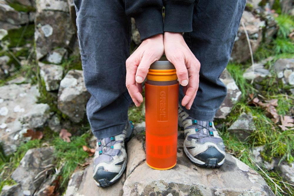 Tim Leffel bailed us out with his Grayl Ultralight Water Filter while hiking in Kyrgyzstan